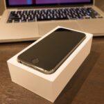 やっぱりこのサイズが好き。iPhone 5sの白ロムを買った。